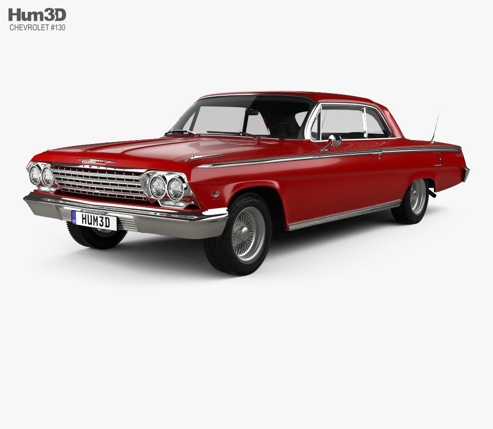 Chevrolet Impala SS 409 1962 3D model.