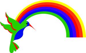 Hummingbird Clipart Image.