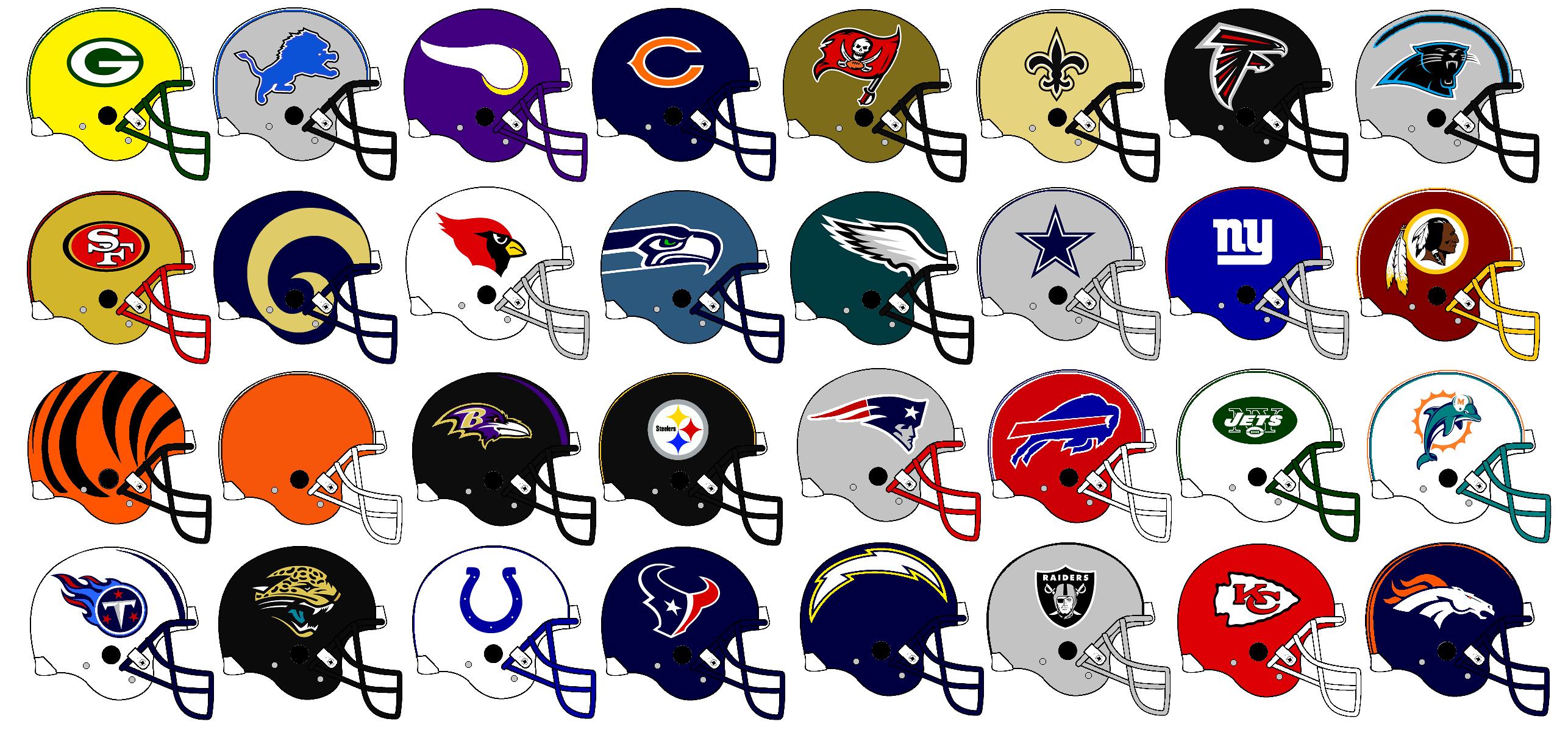 Nfl helmet clip art.