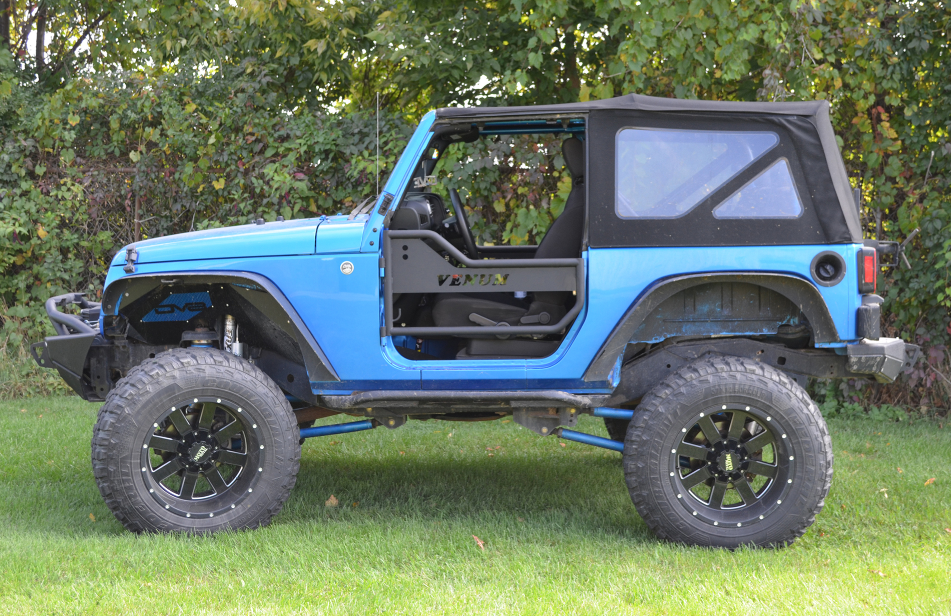 Jeep Performance Venum JK Tube Doors / Front Doors.