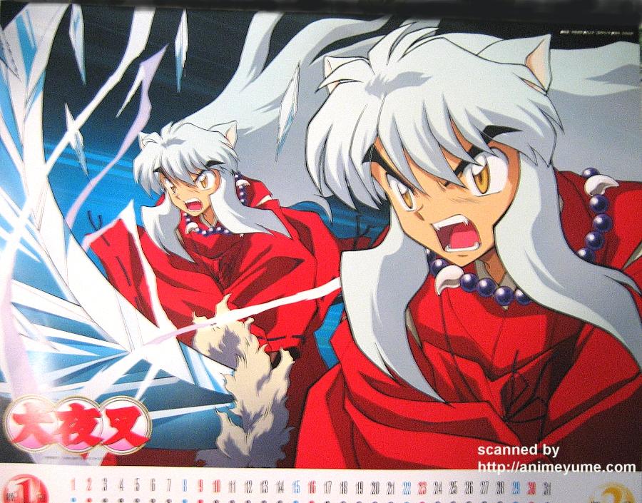 Anime import calendar scans — 毎日アニメ夢.