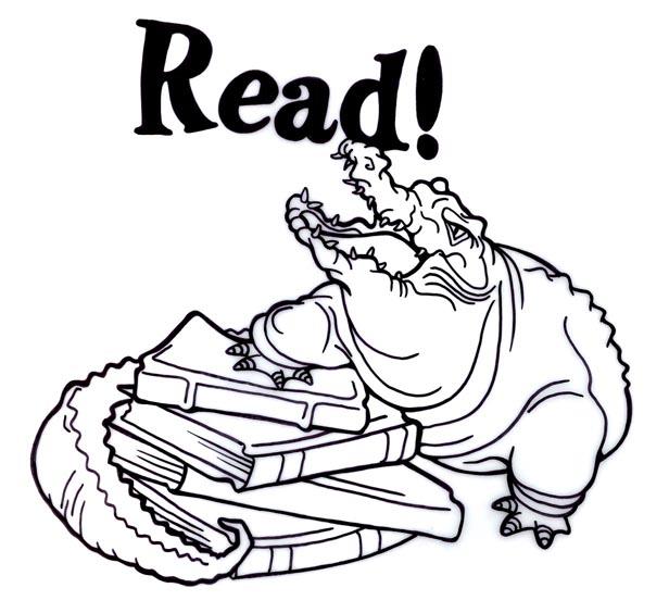 2005 Texas Reading Club Clip Art.