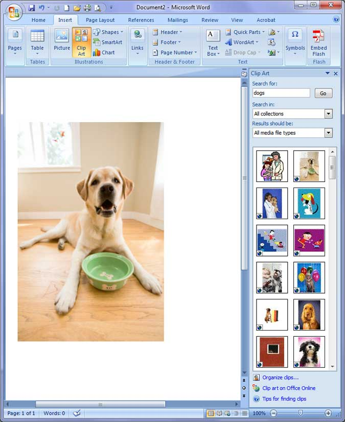 Microsoft office 2007 clip art free download.