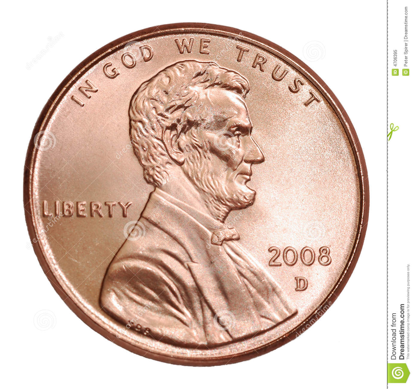 Free penny clipart images.