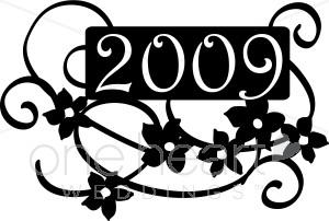 2009 Clip Art.