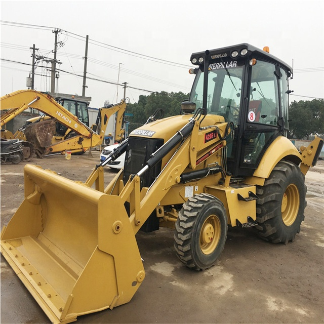 4x4 Cat 420f Used Backhoe For Sale /used Caterpillar 420f.