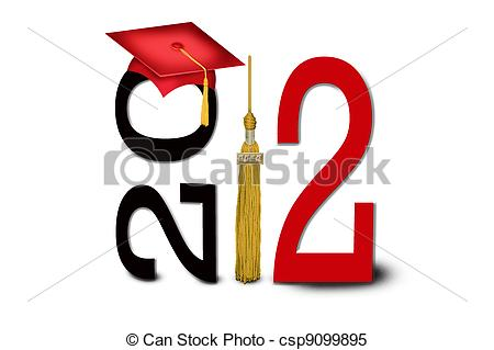 Free clipart class of 2012.