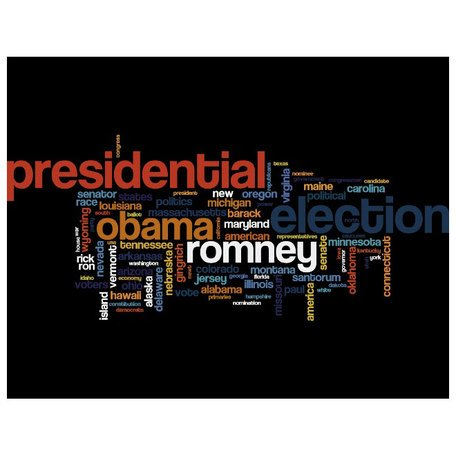 Free ELECTION 2012 WORD CLOUD VECTOR.epss Clipart and Vector.