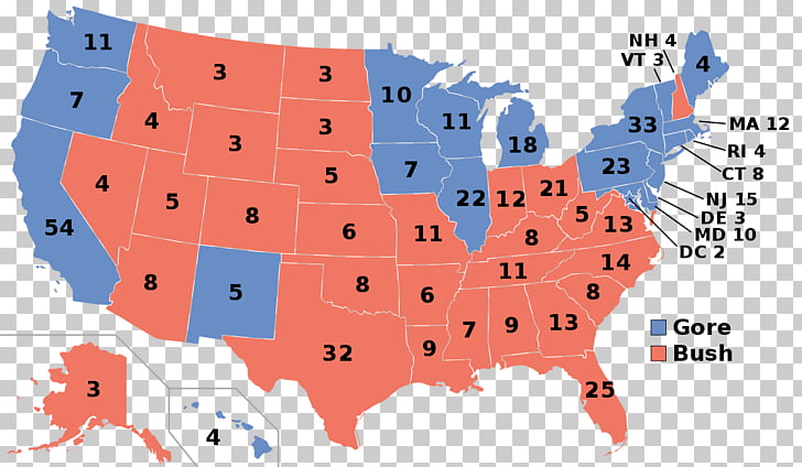 United States presidential election, 2000 United States.