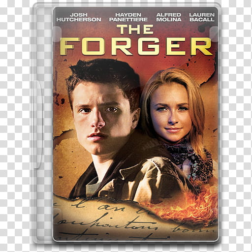 Movie Icon , The Forger (), The Forger DVD case transparent.