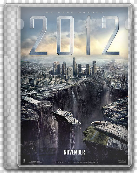 DVD movies icon, c, November movie case transparent.