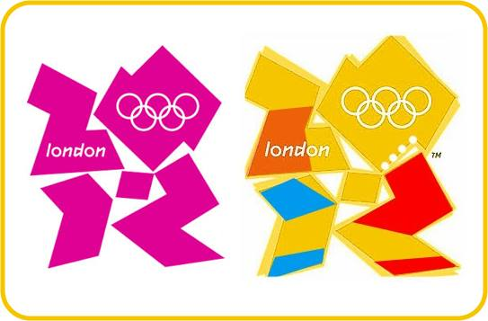 2012 Olympics logo belongs in the scrap heap.