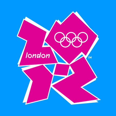 London 2012 Olympics logo by Wolff Olins.