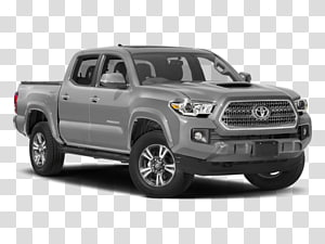 2017 Toyota Tacoma Trd Sport transparent background PNG.