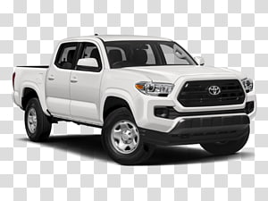 2018 Toyota Tacoma Access Cab transparent background PNG.