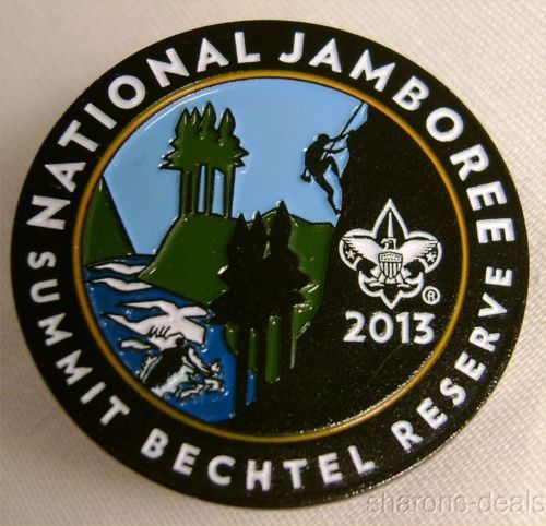 Boy Scout 2013 National Jamboree Lot 4 Full Color Pin Summit.