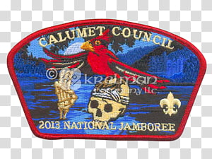 Boy Scouts of America Scouting Jamboree Embroidered patch.