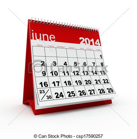 2014 Calendar Clipart.