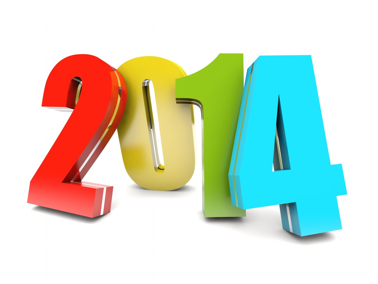 Number 2014 Clipart.