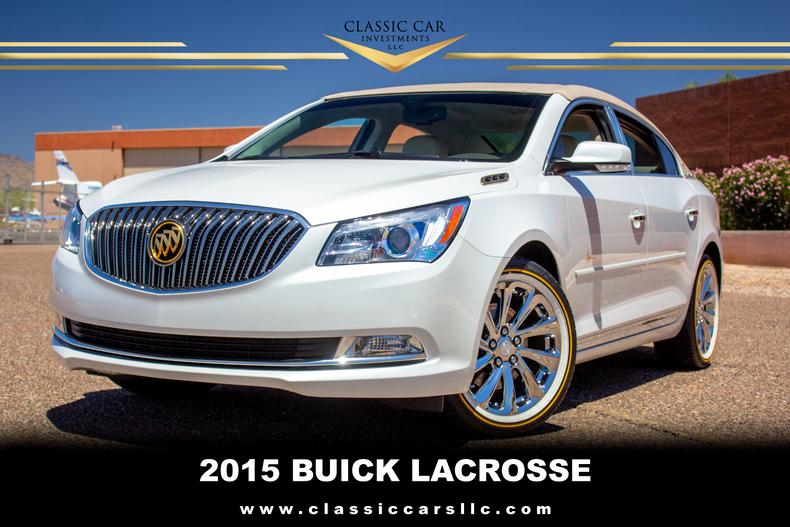 2015 Buick Lacrosse.