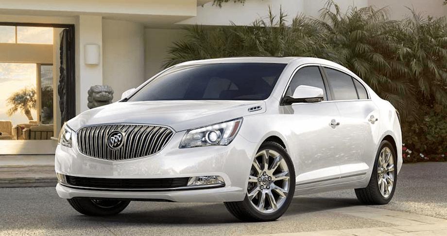 2015 Buick LaCrossse vs 2015 Lexus ES 350.