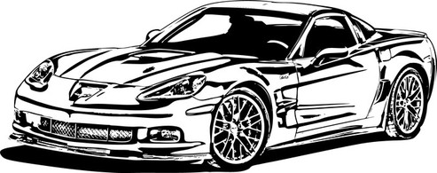 Next Red Corvette 2015 Rear.