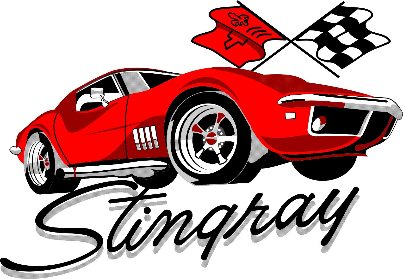 Corvette Stingray Logo.