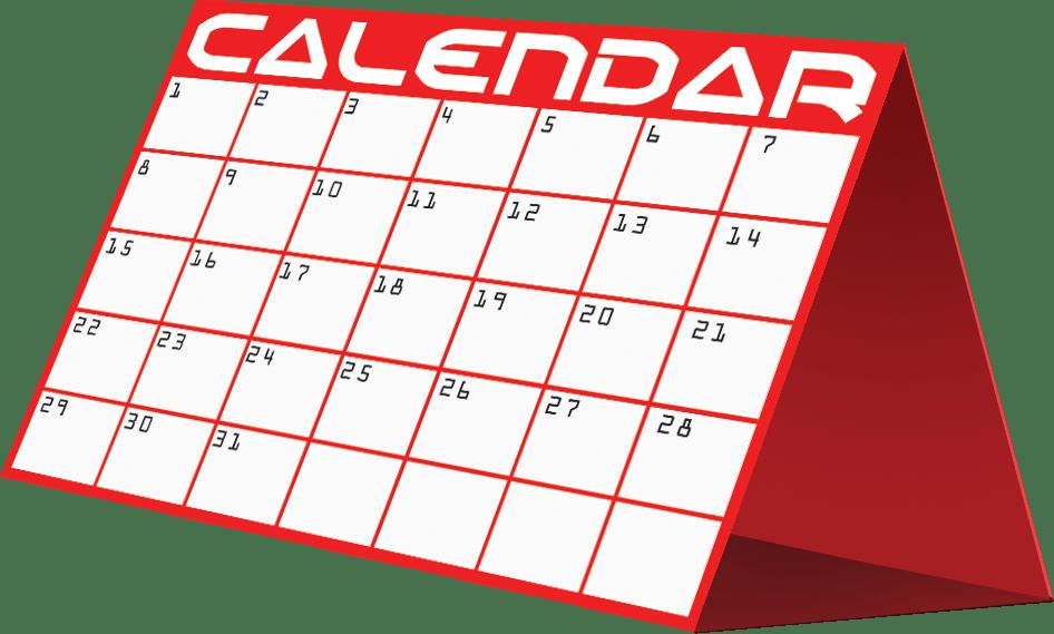 Clipart calendar 2016 » Clipart Portal.