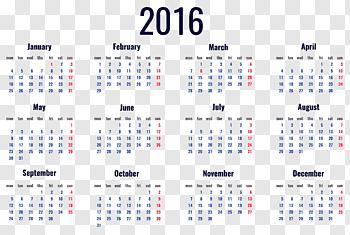 Calendar cutout PNG & clipart images.