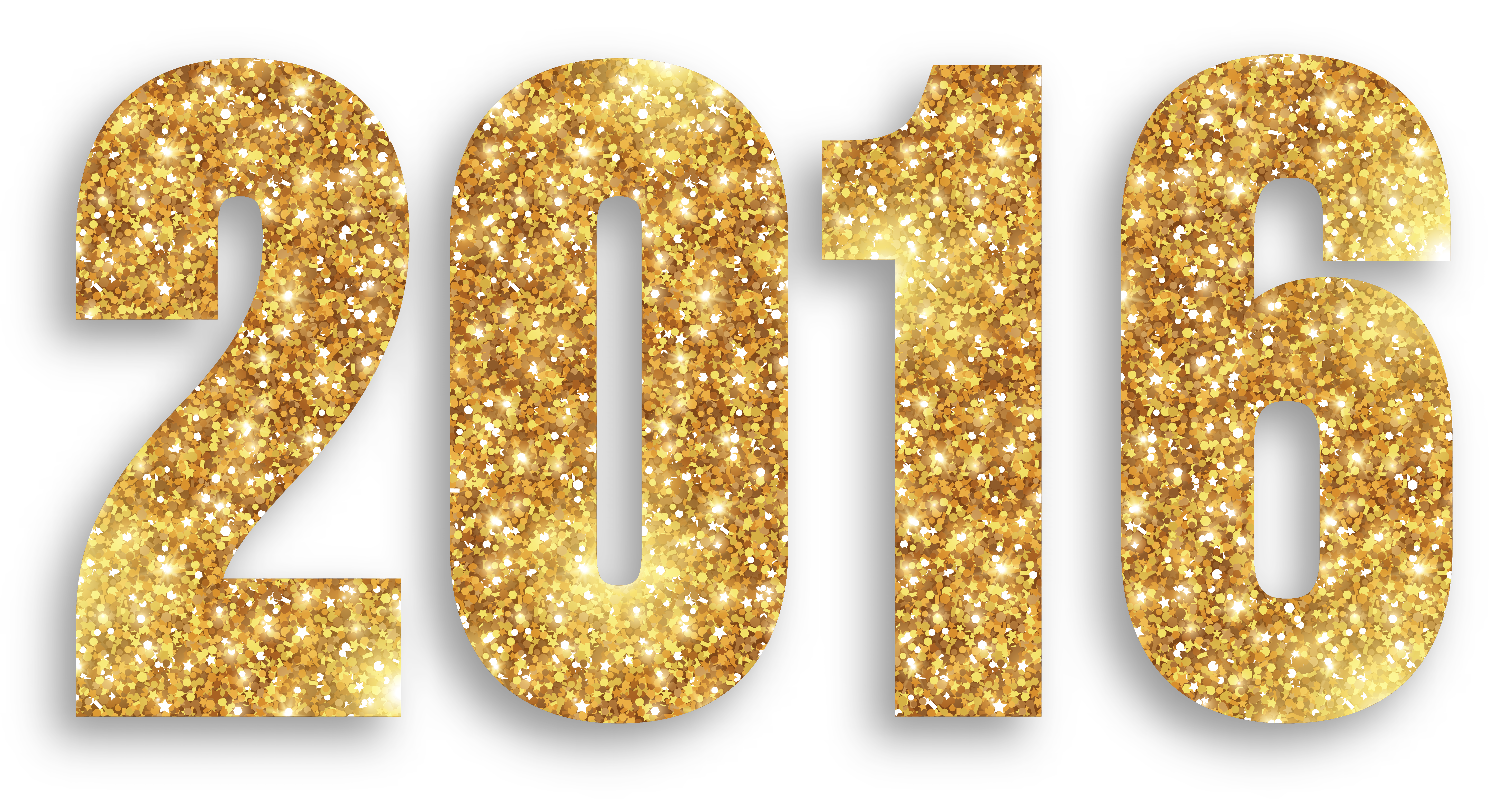 2016 Gold Large PNG Image.