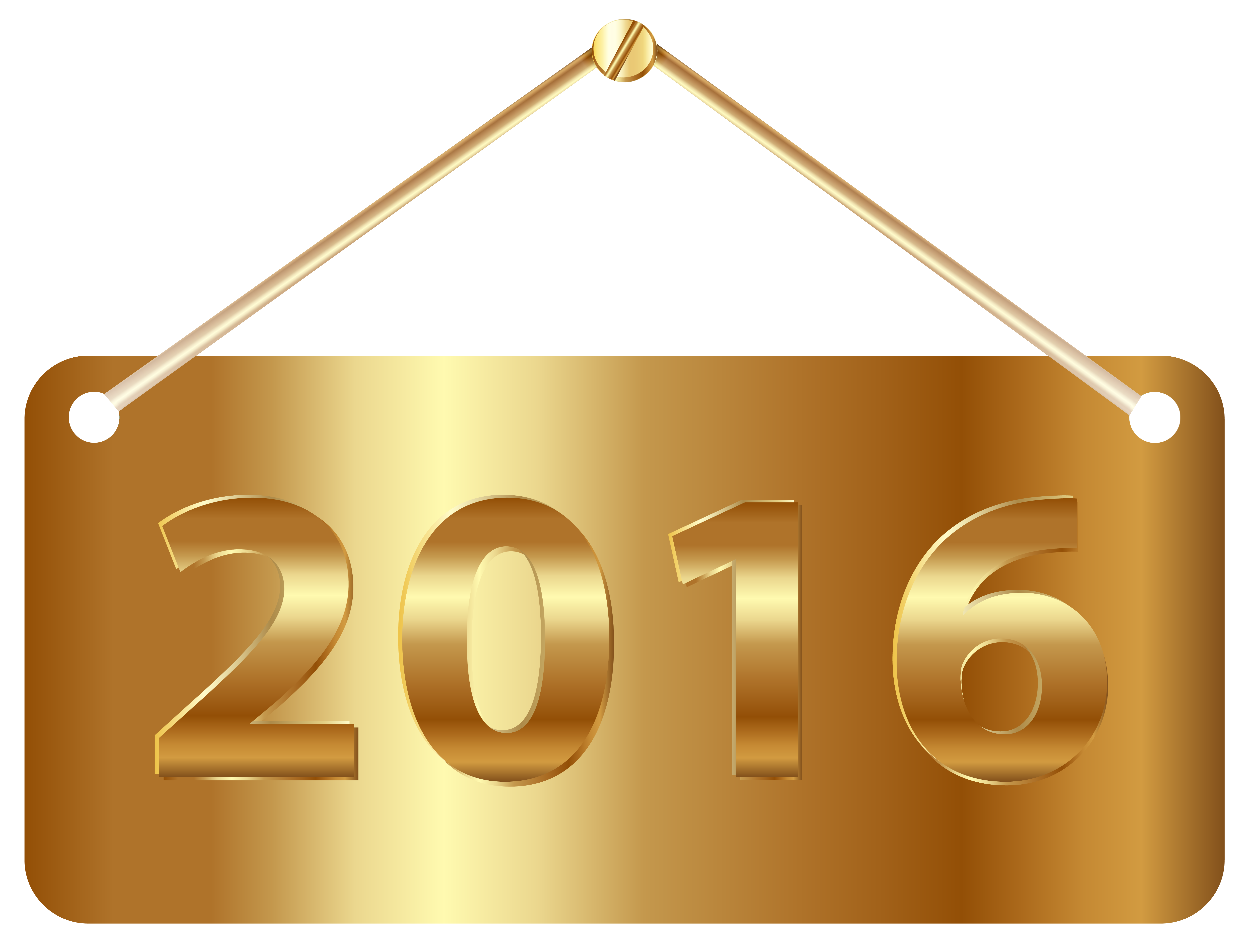 Gold Label 2016 PNG Clipart Image.