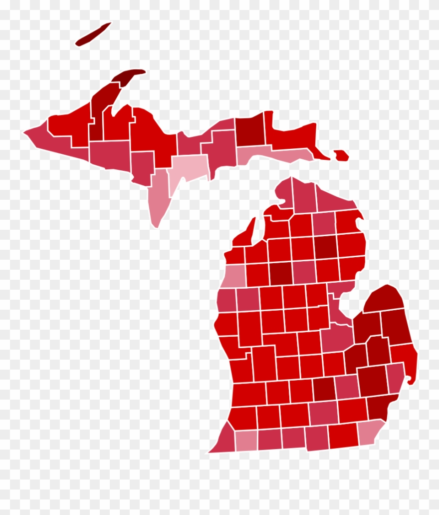 Michigan Presidential Election Results.