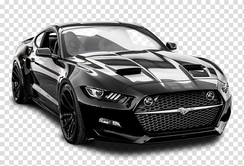 Black coupe, 2016 Ford Mustang 2018 Ford Mustang 2015 Ford.