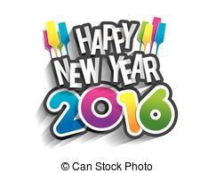2016 happy new year clipart 1 » Clipart Station.
