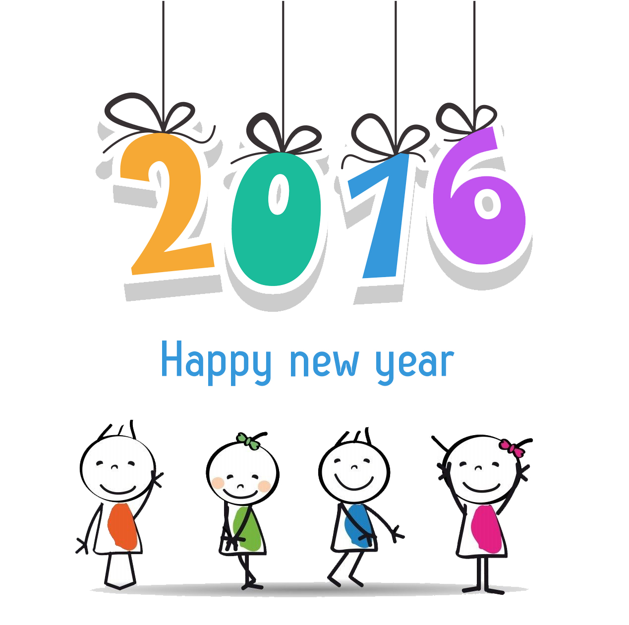 Free Clipart For 2016 Happy New Year & Free Clip Art Images #11216.