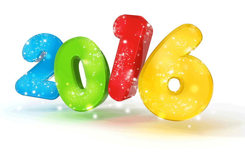 2016 New Year Png & Free 2016 New Year.png Transparent Images #9045.