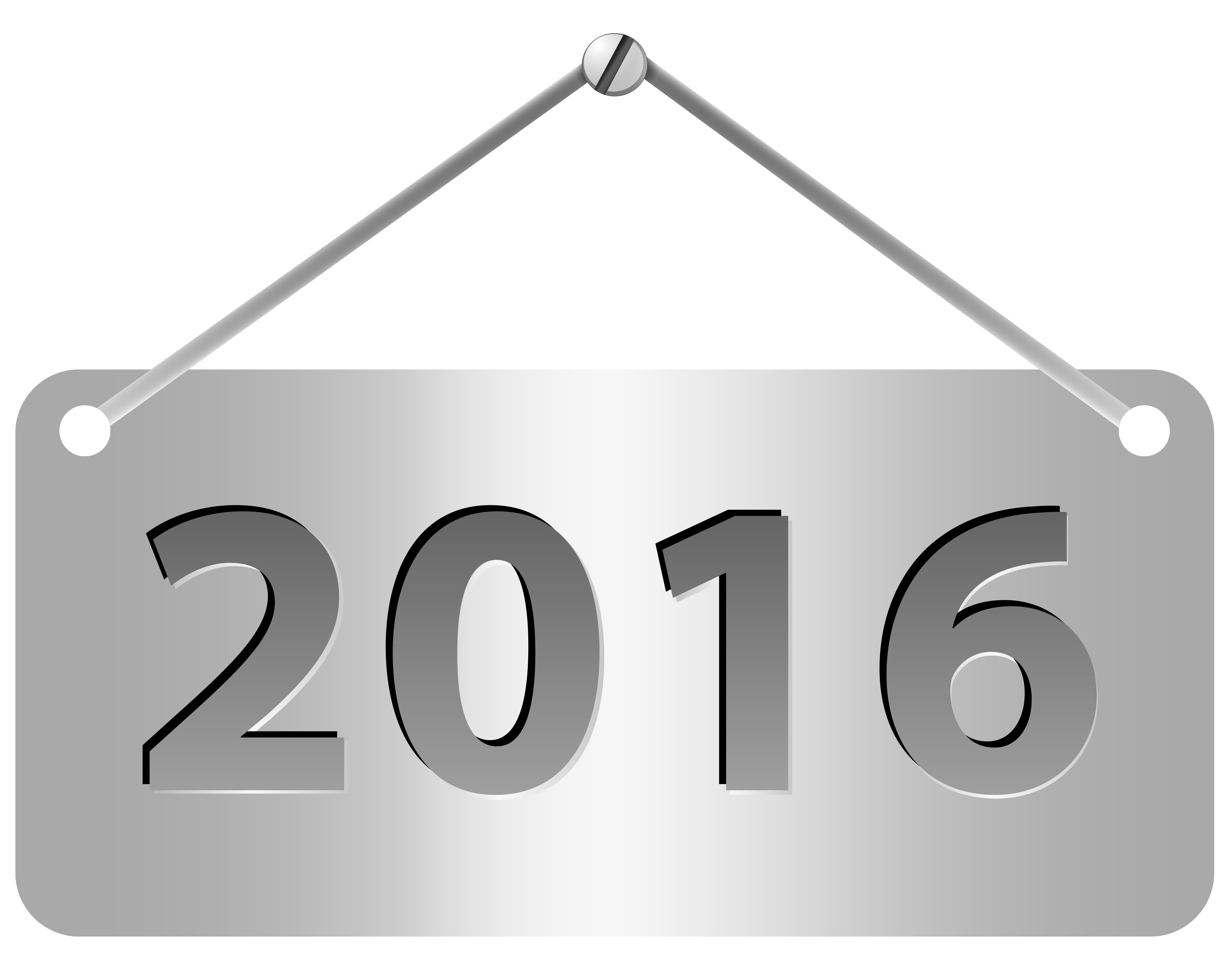 Silver Label 2016 PNG Clipart Image.
