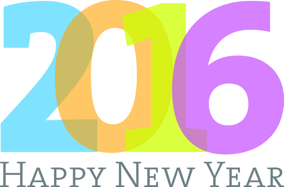 New Years Day 2016 Free Png & Free New Years Day 2016.png.