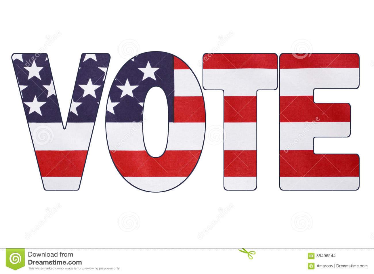 Vote For President Clipart.