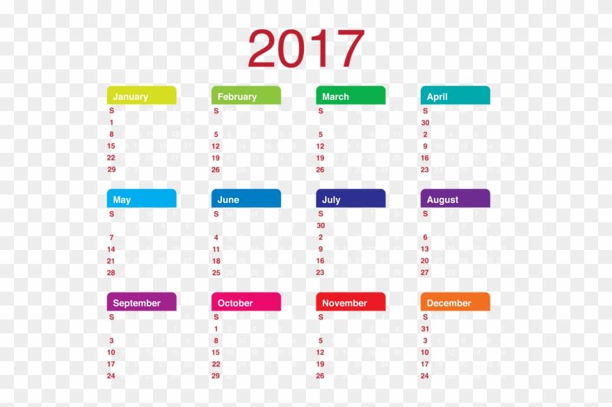 2017 Transparent Calendar Png Clipart Picture 2017.