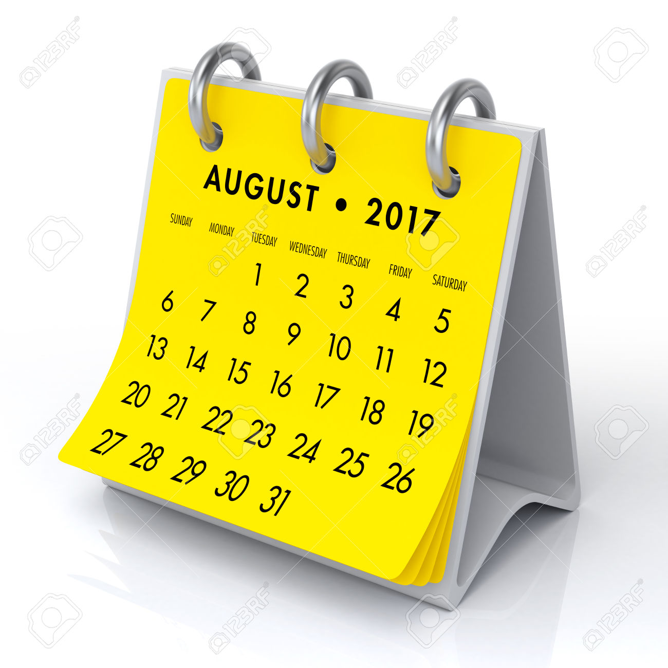 August clipart calendar, August calendar Transparent FREE.