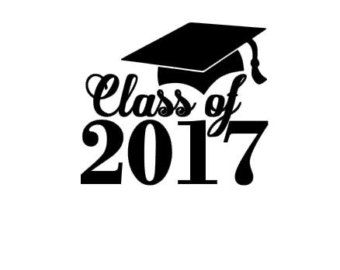 Senior 2017 Clipart.