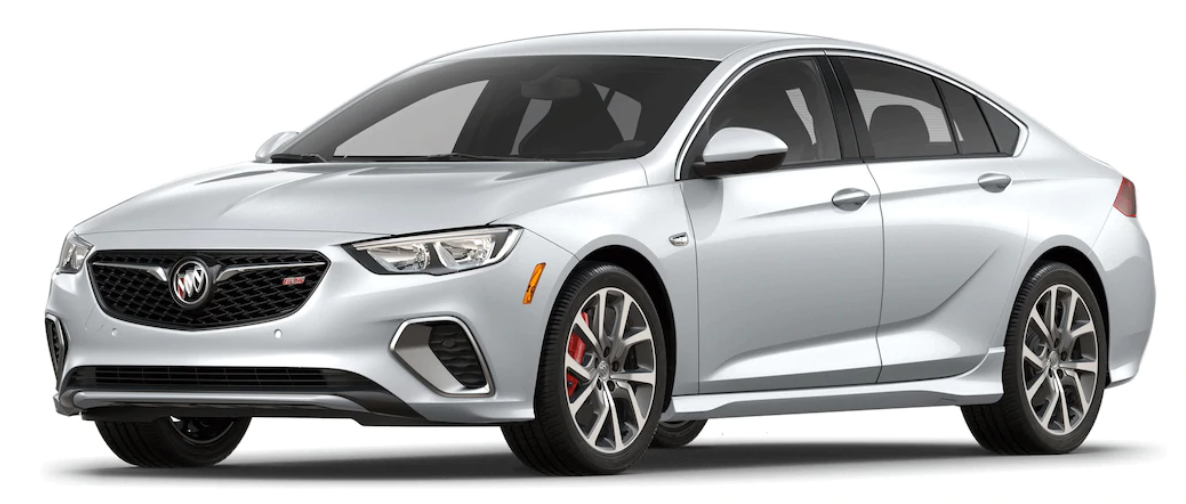 2018 Buick Regal GS Exterior Color Options.