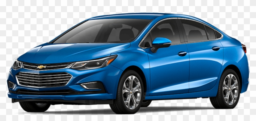 Blue 2017 Used Chevy Cruze.