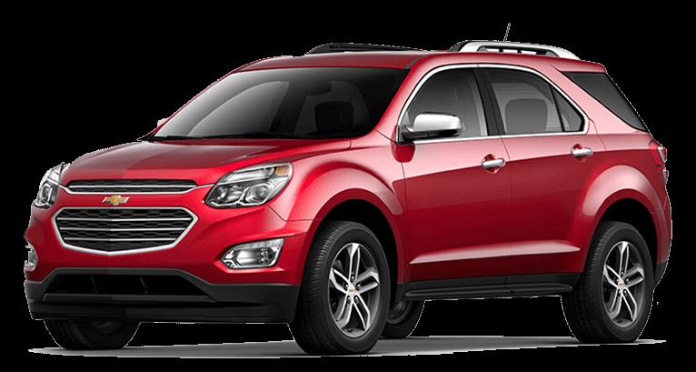 The 2016 Chevrolet Equinox vs. the Chevrolet Trax.