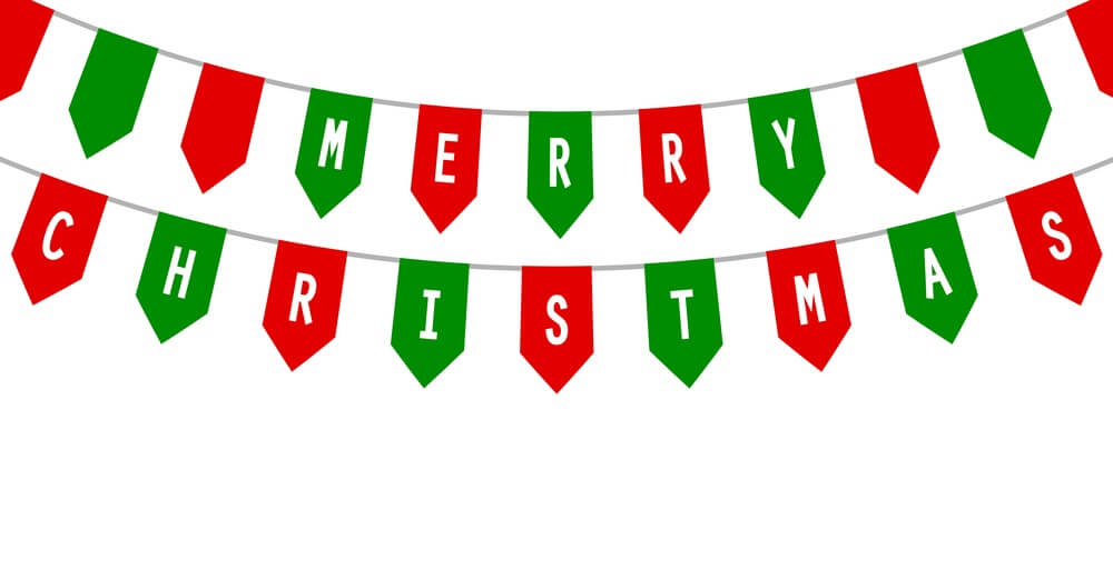 6010 Merry Christmas free clipart.
