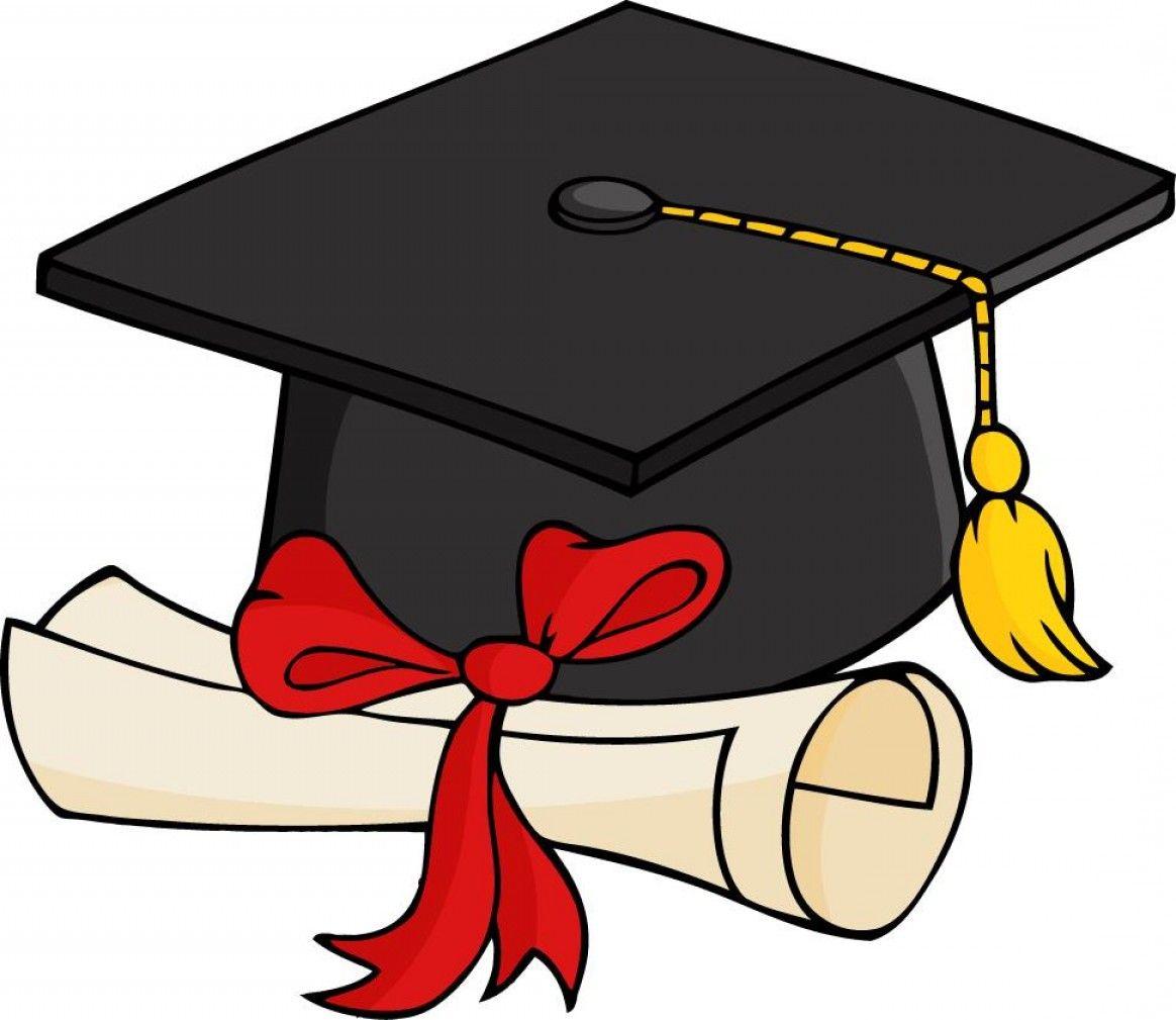 Free 2017 Graduation Clip Art Layout: Best Graduation Cap And Gown.