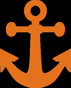 Orange Anchor Clip Art at Clker.com.