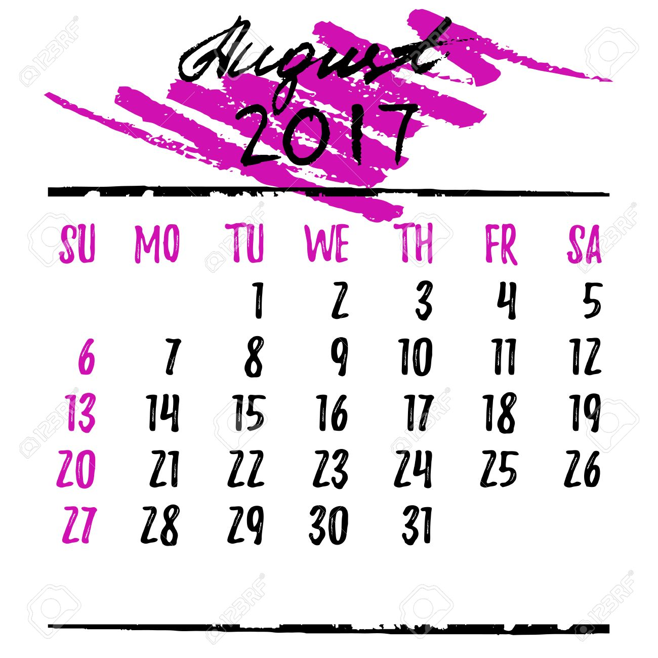 August clipart pink, August pink Transparent FREE for.
