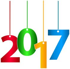 2017 Happy New Year Transparent PNG Clip Art Image 2017.